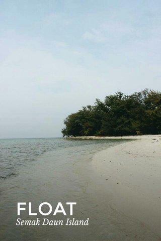 FLOAT Semak Daun Island