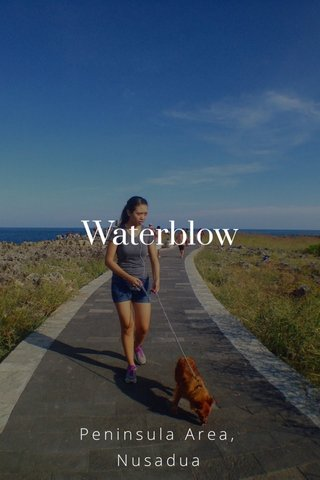 Waterblow Peninsula Area, Nusadua