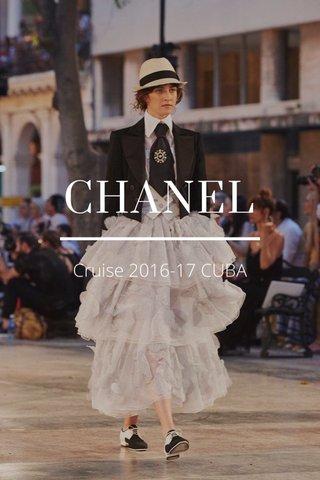 CHANEL Cruise 2016-17 CUBA
