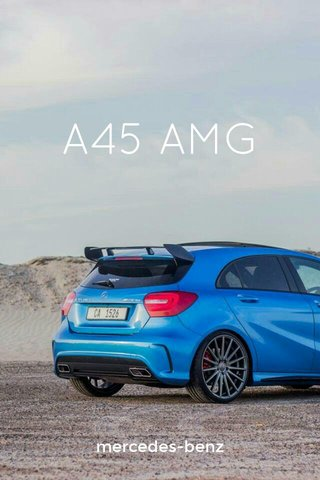 A45 AMG mercedes-benz