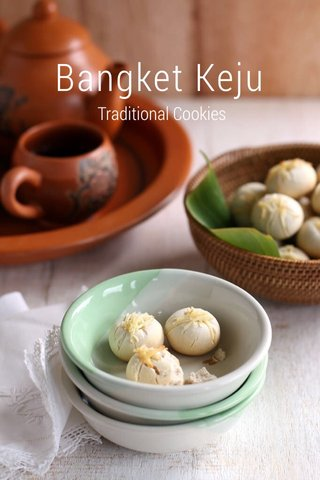 Bangket Keju Traditional Cookies