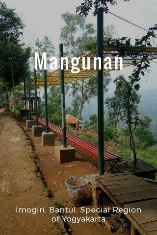 Mangunan Imogiri, Bantul, Special Region of Yogyakarta