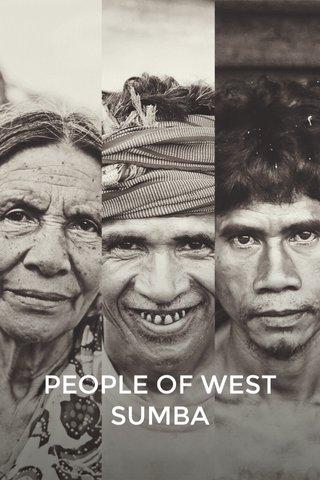PEOPLE OF WEST SUMBA