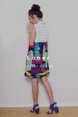 Loner collar Dress