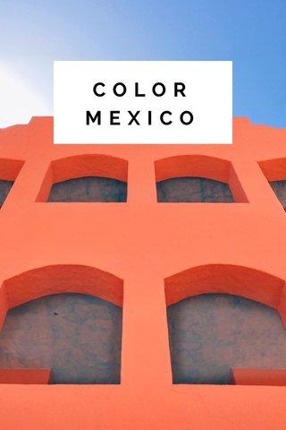 COLOR MEXICO