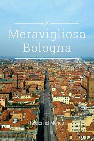 Meravigliosa Bologna Radici nel Mondo