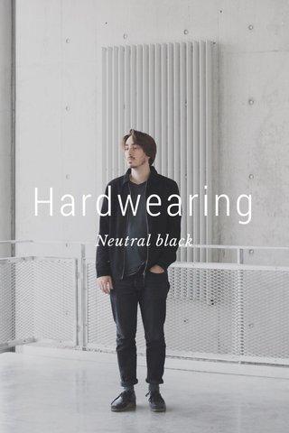 Hardwearing Neutral black