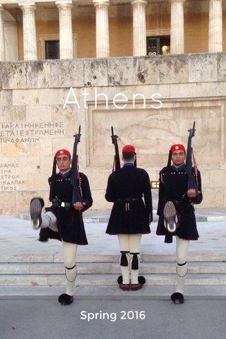 Athens Spring 2016