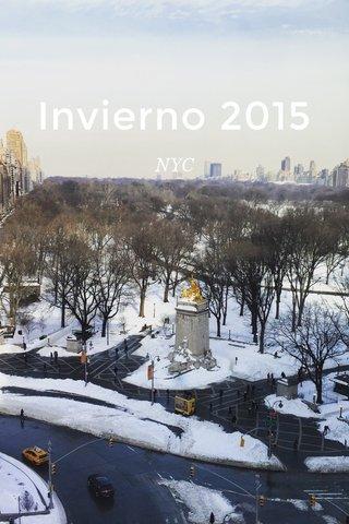 Invierno 2015 NYC