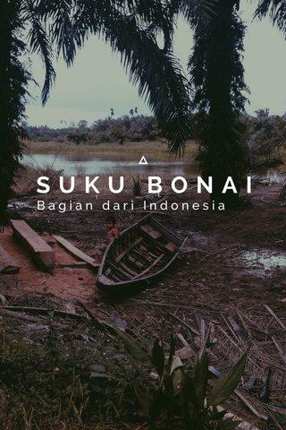SUKU BONAI Bagian dari Indonesia