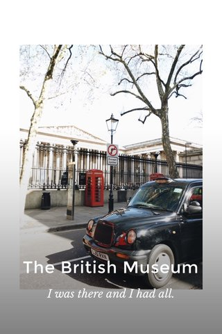 The British Museum I was there and I had all. #stellerstories #stelleritalia