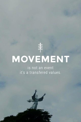 MOVEMENT is not an event it's a transfered values.