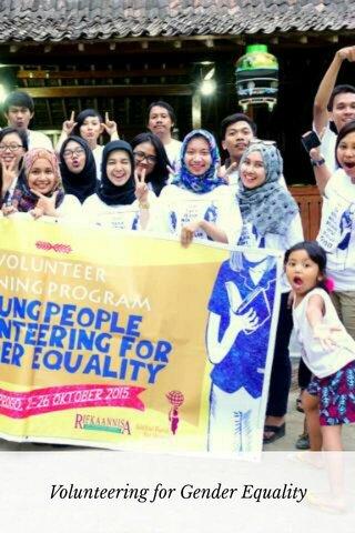 Volunteering for Gender Equality