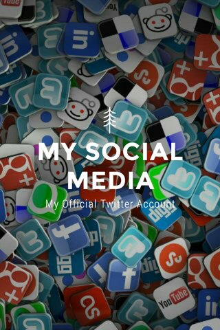 MY SOCIAL MEDIA My Official Twitter Account