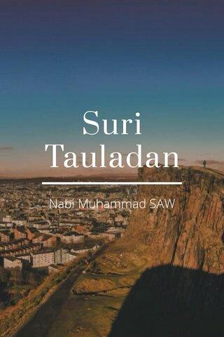 Suri Tauladan Nabi Muhammad SAW