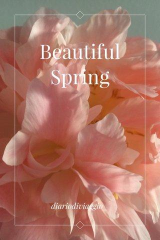 Beautiful Spring diariodiviaggio_