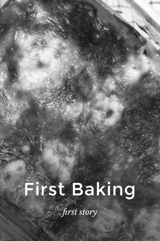 First Baking first story
