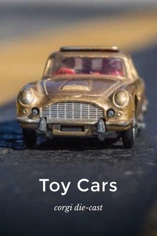 Toy Cars corgi die-cast