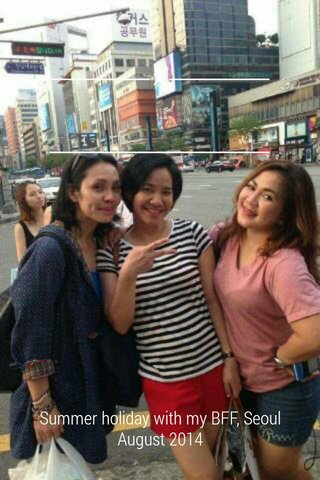 Summer holiday with my BFF, Seoul August 2014