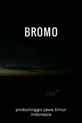 BROMO probolinggo-jawa timur indonesia