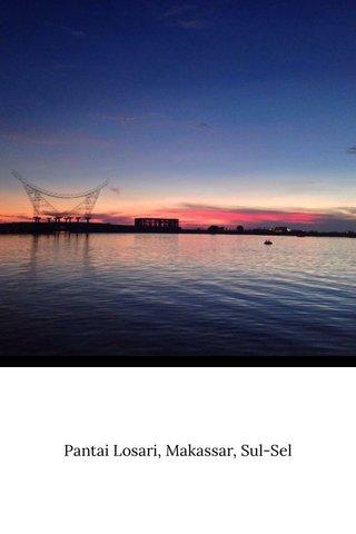 Pantai Losari, Makassar, Sul-Sel