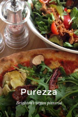 Purezza Brighton's vegan pizzeria