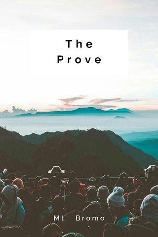 The Prove Mt. Bromo