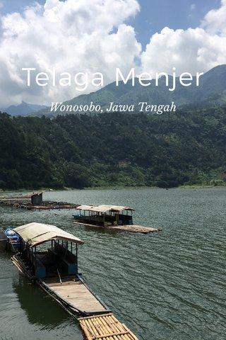 Telaga Menjer Wonosobo, Jawa Tengah