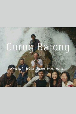Curug Barong Sentul, West Java Indonesia