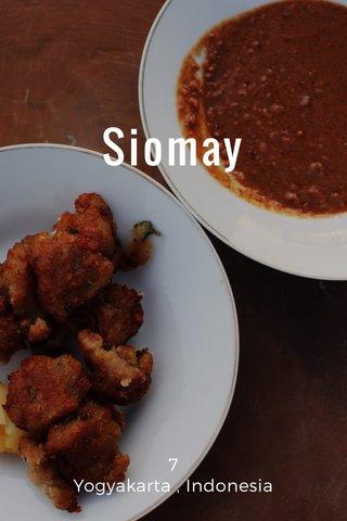 Siomay 7 Yogyakarta , Indonesia