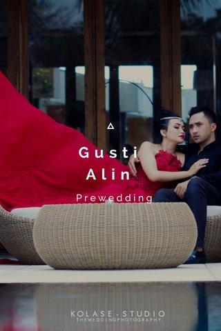 Gusti Alin Prewedding