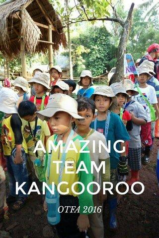 AMAZING TEAM KANGOOROO OTFA 2016