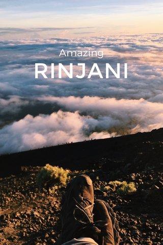 RINJANI Amazing