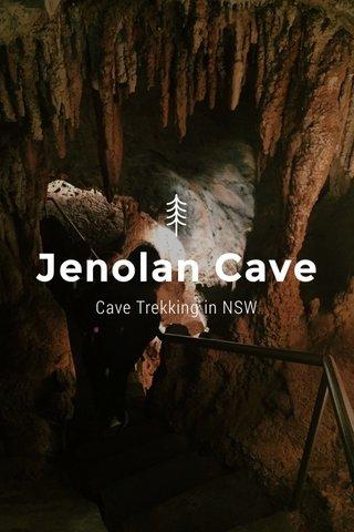 Jenolan Cave Cave Trekking in NSW