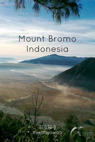 Mount Bromo Indonesia 201309 #widhyawati