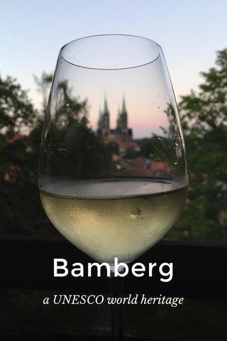 Bamberg a UNESCO world heritage