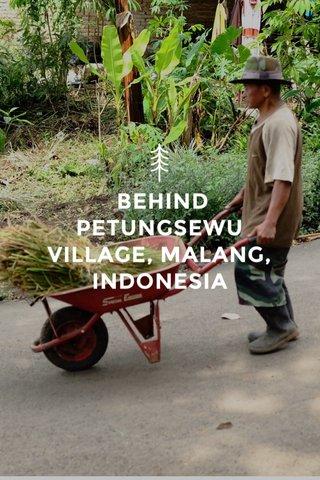 BEHIND PETUNGSEWU VILLAGE, MALANG, INDONESIA