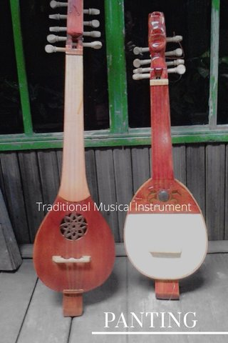 PANTING Traditional Musical Instrument