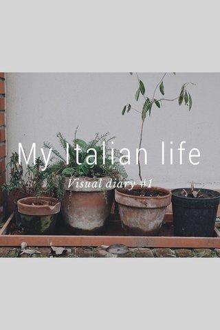 My Italian life Visual diary #1
