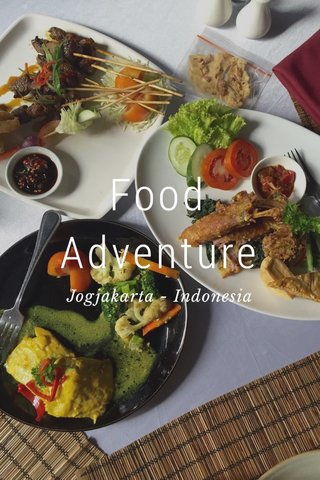 Food Adventure Jogjakarta - Indonesia