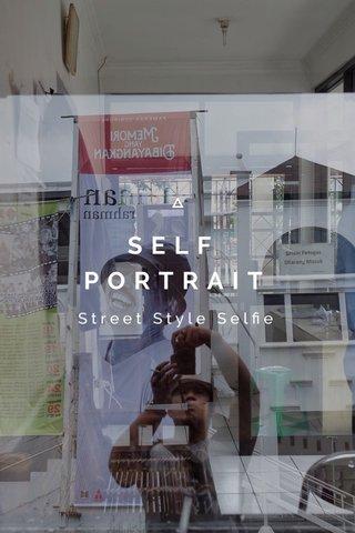 SELF PORTRAIT Street Style Selfie