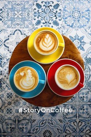 #StoryOnCoffee