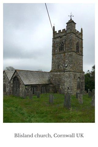 Blisland church, Cornwall UK