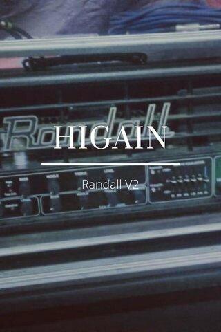 HIGAIN Randall V2