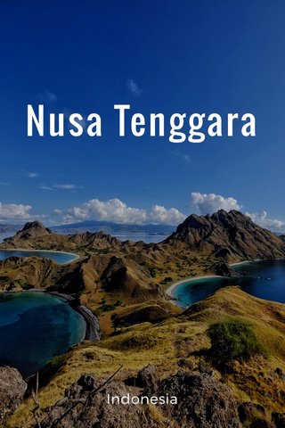 Nusa Tenggara Indonesia