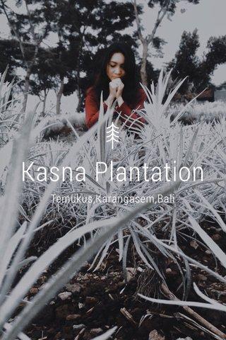 Kasna Plantation Temukus,Karangasem,Bali