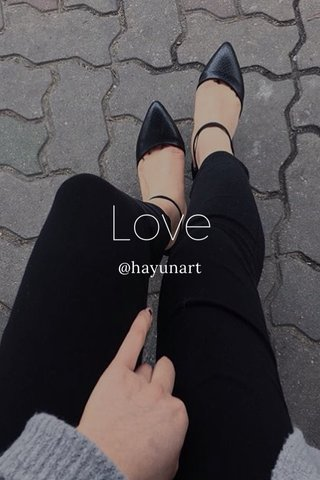 Love @hayunart