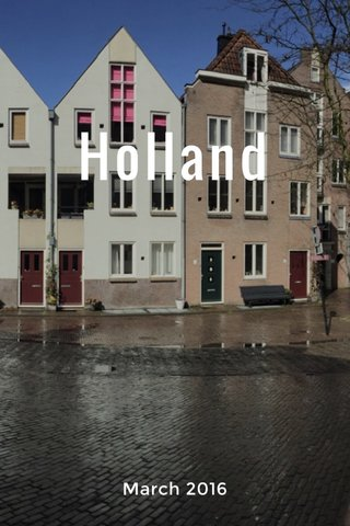 Holland March 2016