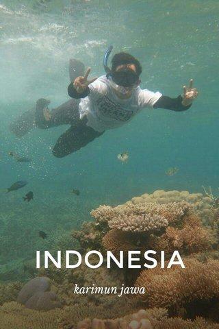 INDONESIA karimun jawa