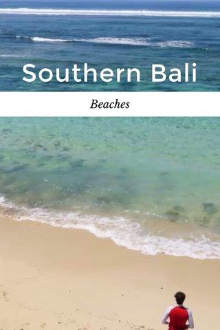 Southern Bali Beaches